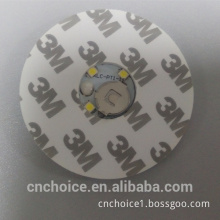 party favors china decorative products ningbo factory lighted cup coaster white 3/4 led light sticker for wine bottle