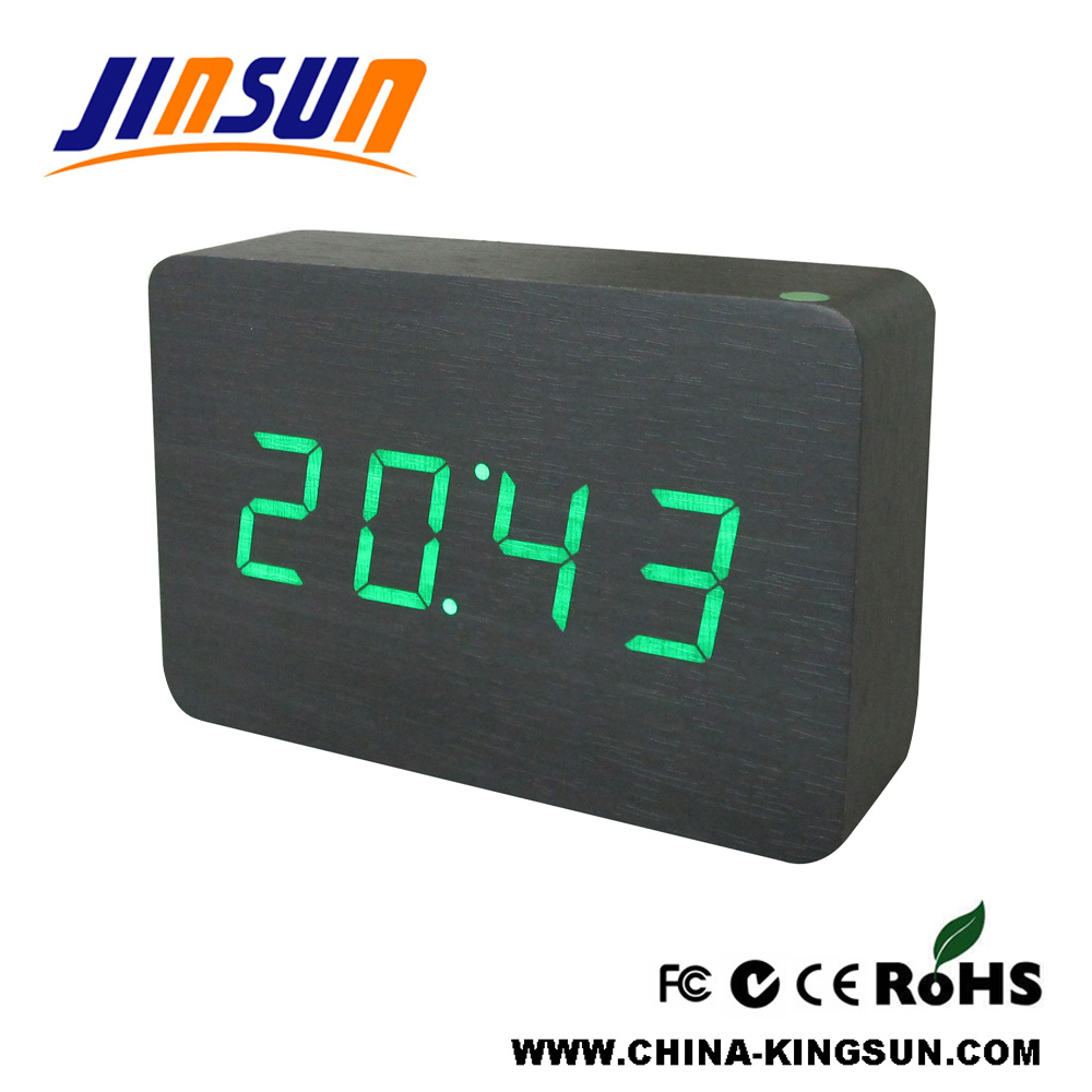 Green Led Alarm Clock
