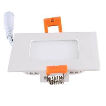 Ultra Silm 3W Quadratisches LED-Instrumententafel-Licht mit 3-jähriger Garantie
