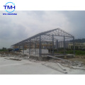 Edificio de estructura de acero ligero de panel sándwich de fabricación profesional