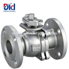 ANSI robinet à tournant sphérique flottant à haute pression d'acier inoxydable de bride de prix de poignée de 4 pouces