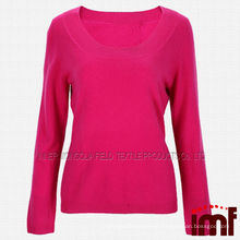 2014 New Fine Cashmere Camisolas de lã