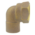 Gunmetal Bronze Female Elbow