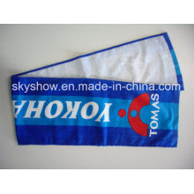 Printed Velour Golf Towel for Adults