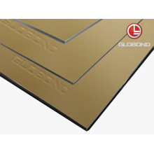 GLOBOND FR Panel compuesto de aluminio ignífugo (PF-423 Champagne metálico)