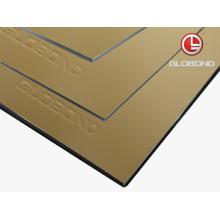 GLOBOND FR Противопожарная алюминиевая композитная панель (PF-423 Champagne Metallic)