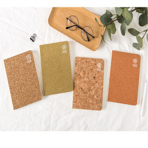 Fancy Novelty Customized Cork Notebook For Gift