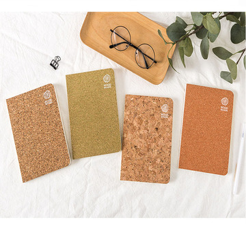 Fancy Neuheit Customized Cork Notebook für Geschenk