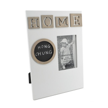 Wooden Frame with Black Board for Home Decoration