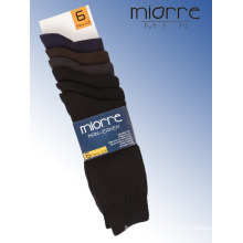 Miorre Men Seamless Cotton Socks Mixed Assorted Colors 6 Pack