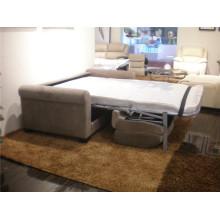 Sofá eléctrico del sofá del cuero de la calesa del cuero genuino Recliner (741B)