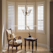 Hidden rod clearview pvc window shutters from china