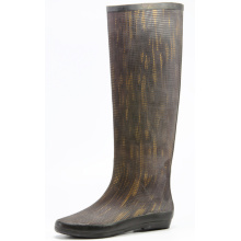 Cloth Surface Rubber Rain Boots