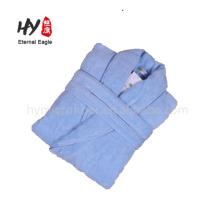 Ligera bata de baño de tejido de gofre de mujer de algodón de secado rápido