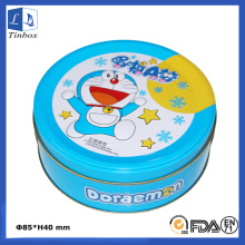 Round Candy Gift Printing Tin Box