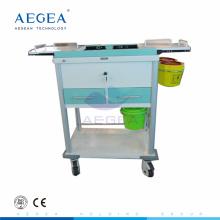 АГ-MT033 больницы медицинские движимость лечения хирургическое помещение, используемое ящиками тележка кровопускания