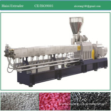 Granules Application and Double-screw Screw Design twin screw extruder machine