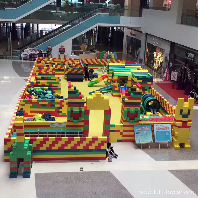 LULU epp foam building block for shopping mall