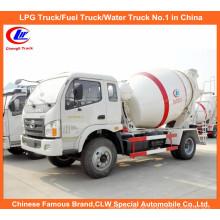 Kleiner 3cbm Betonmischer-LKW für Zement-Mischer-LKW 5m3