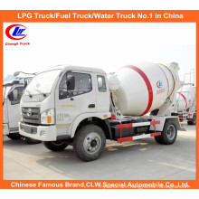 Small 3cbm Concrete Mixer Truck for 5m3 Cement Mixer Truck