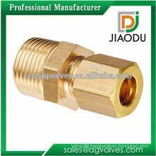 china manufacture best selling CW607N brass reducing connector pipe fitting for pex al pex