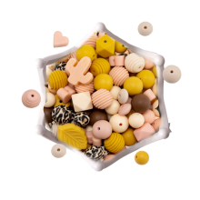 BPA Free Nursing Accessories Various Shapes Silicone Beads