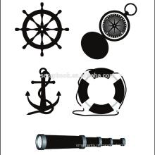 Selos de claros personalizados útil para scrapbooking