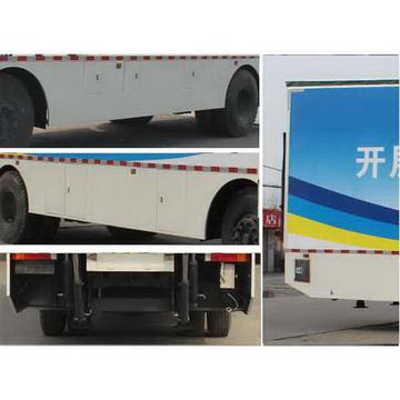 Dongfeng Tianlong 6X2 Mobile Stage Truck China Manufacturer