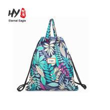 Новый дизайн девушки рюкзак холст путешествия пакет, напечатал мешок