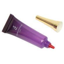 Tubo cosmético de plástico de 15 ml com tampão de metal Bugle