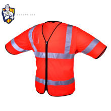 2018 new design EN20471 Promotional Cheap protective Traffic road multi-color range safety officer vest with good breathability