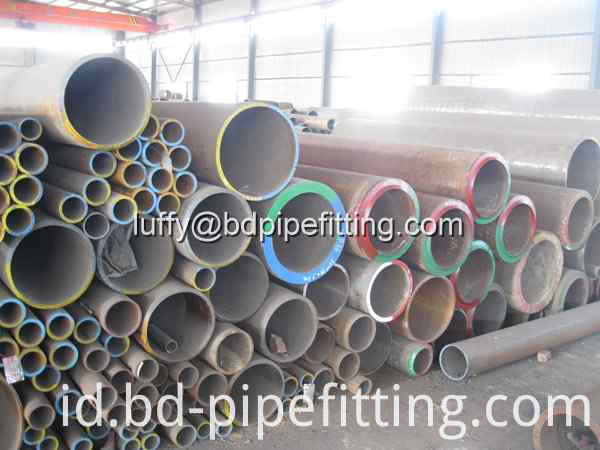 Alloy steel pipe stock