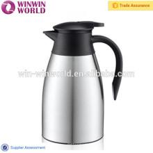 Pot de café à vide à double paroi en acier inoxydable de 1,5 L