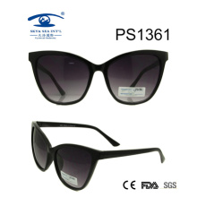 Cat Eye Style Big Frame PC Fashion Sunglasses (PS1361)