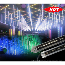 tubo de luz led 5050 doble cara DMX led tubo de meteoritos
