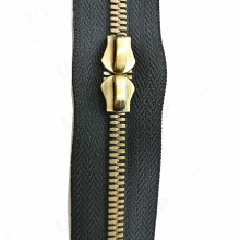 Brass No.5 Head to Head Two Way Zipper