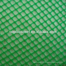 HDPE / POLY malha plana de plástico / net, redes planas de plástico, redes de aves de capoeira, malha de plástico