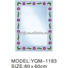 Hangzhou Xiaoshan 4mm Silver or Aluminum Empaistic Mirror Single or Double Layer Bath Mirror