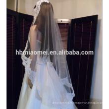 Meilleure vente mariée voile de mariage rétro dentelle dentelle coréenne accessoires de mariage voile essentiel voile de mariée en gros