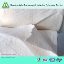 Remplissage non-tissé de fibre de viscose de fibre de rayonne de FR pour le matelas