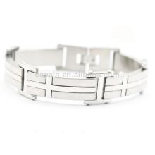 China Custom Locking Edelstahl Armband
