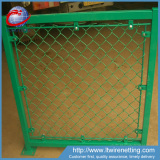 High quality pvc coated 6x6 chain link fence panels