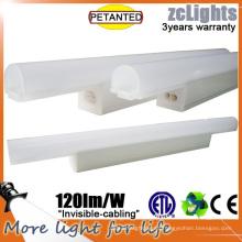 Difusor de PC LED T5 Iluminación de estante Iluminación lineal de gabinete