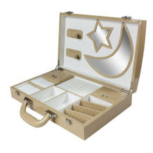 Moda luxo personalizado impresso caixa de papel de presente de perfume, base e tampa cosméticos caixa