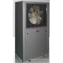 Evi-Luft-Wärmepumpe in kalten Regionen
