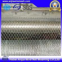 Clôture de maille en poudre galvanisée au zinc et revêtue de PVC