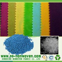 Polipropileno no tejido hilado en diferentes colores