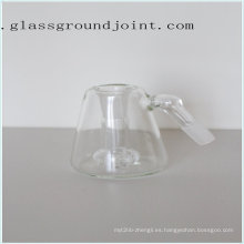 Pipa agua vidrio con esmerilado