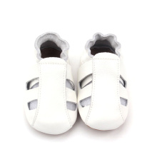 Fashion Hollow Out Plain White Baby Girl Sandały