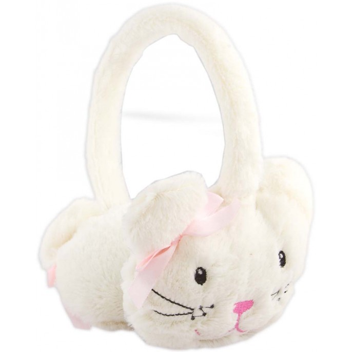 GIRLS ANIMAL EARMUFFS Cream